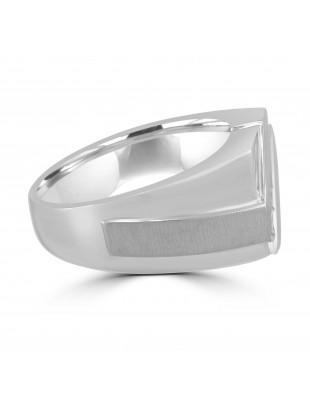 1/3ct Channel Diamond 10k Gold 5 Stone Anniversary Men's Wedding Band Ring 12mm