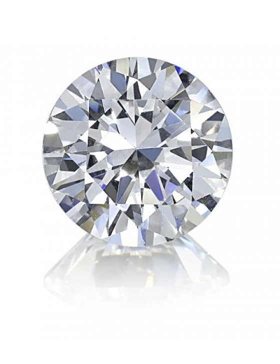 1.02 CT Lab Grown Round Cut Diamond J Color SI1 Clarity IGI Certified